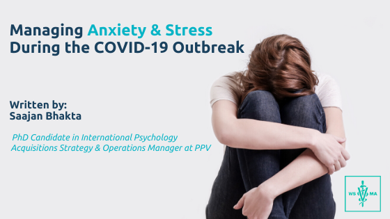 managing stress and anxiety during Covid 19
